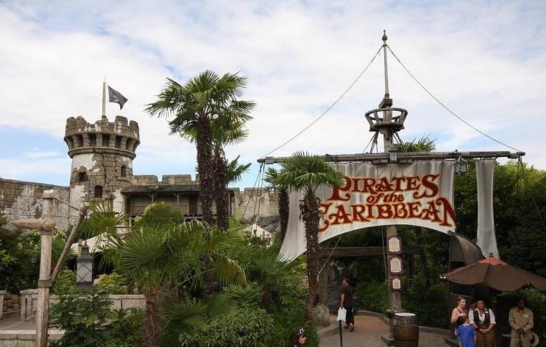 Карибские пираты в Диснейленде в Париже